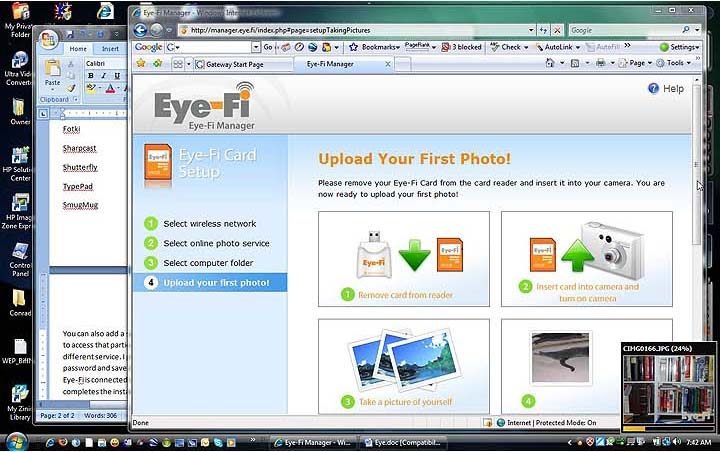 Review Of Review Of The Eye Fi Card